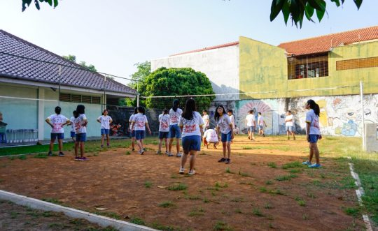 Lapangan Voli