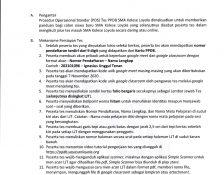 Prosedur Operasional Standar (POS) Tes PPDB 2021 / 2022