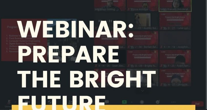 Webinar : Prepare The Bright Future untuk siswa kelas X dan XII